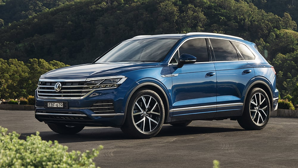 volkswagen touareg 2020 pricing and spec confirmed