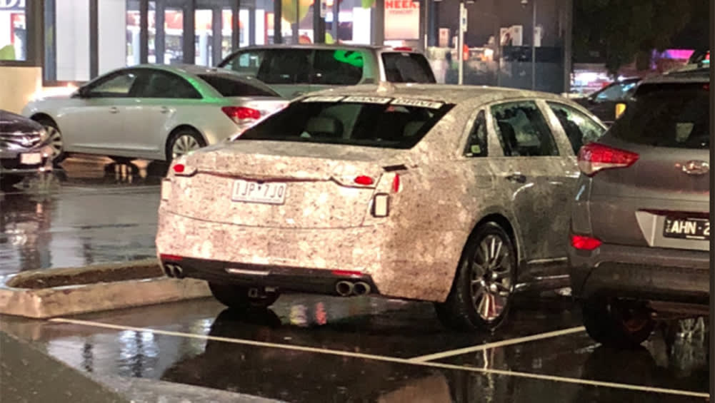 Cadillac CT5 2020 spied testing in Melbourne - Car News | CarsGuide