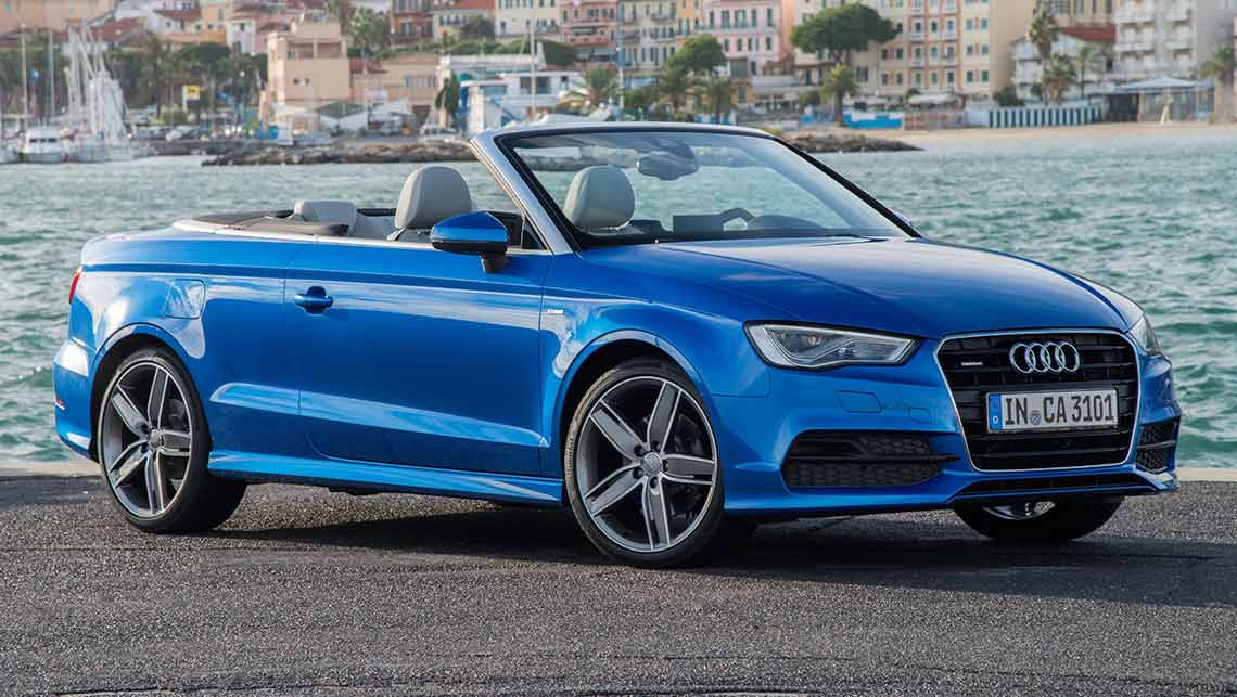 audi a3 1 4 tfsi cabriolet 2014 review carsguide. Black Bedroom Furniture Sets. Home Design Ideas