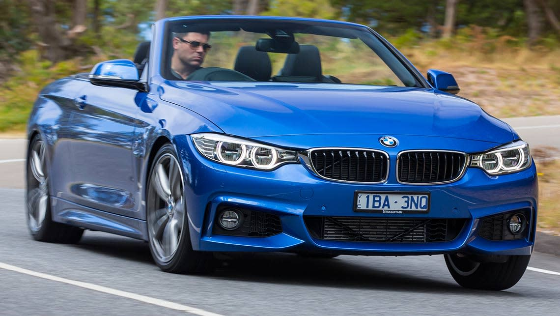 Bmw 420d Convertible 2014 Review Carsguide