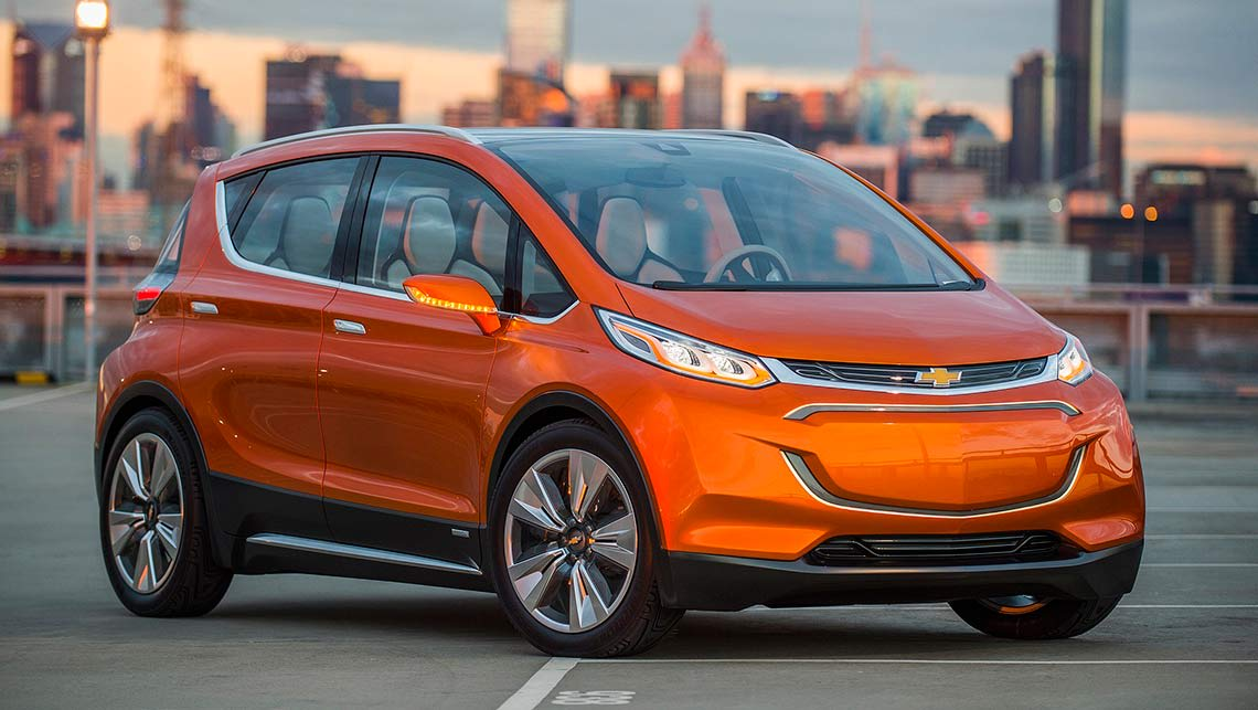 Chevrolet Bolt revealed | Holden electric car wows Detroit - Car ...