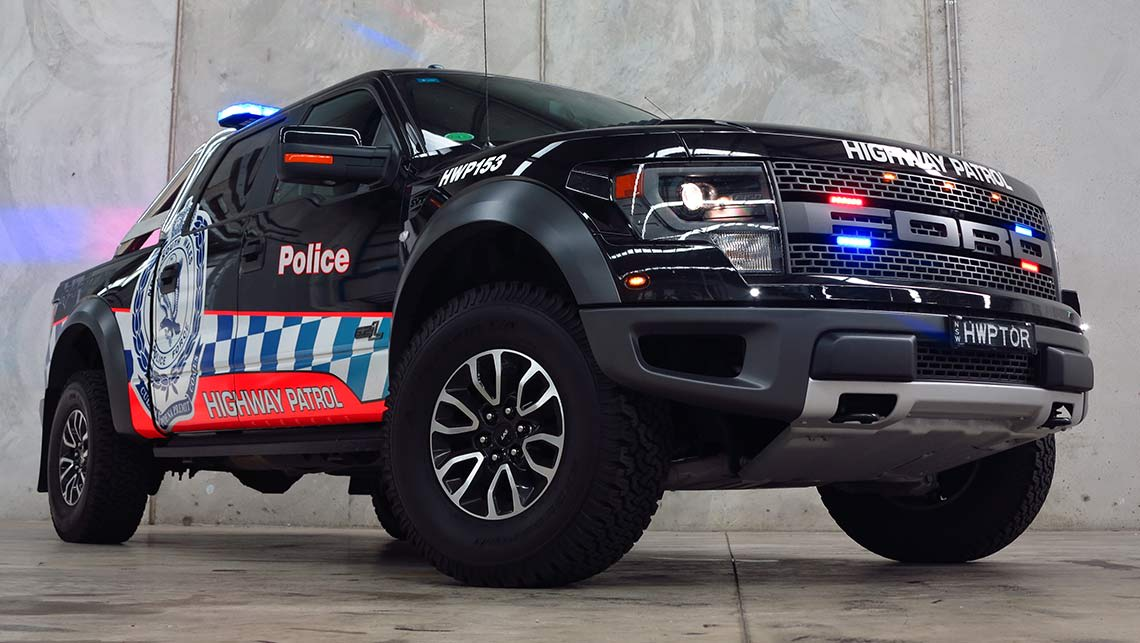Ford F150 Raptor | the toughest police car in Australia - Car News | CarsGuide