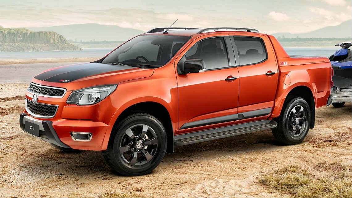 Great 2015 Holden Colorado Z71