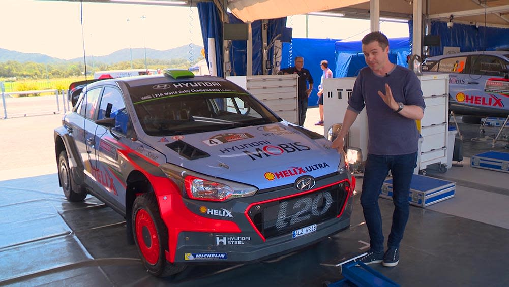 2016 Hyundai I20 WRC | Anatomy Of A Rally Car