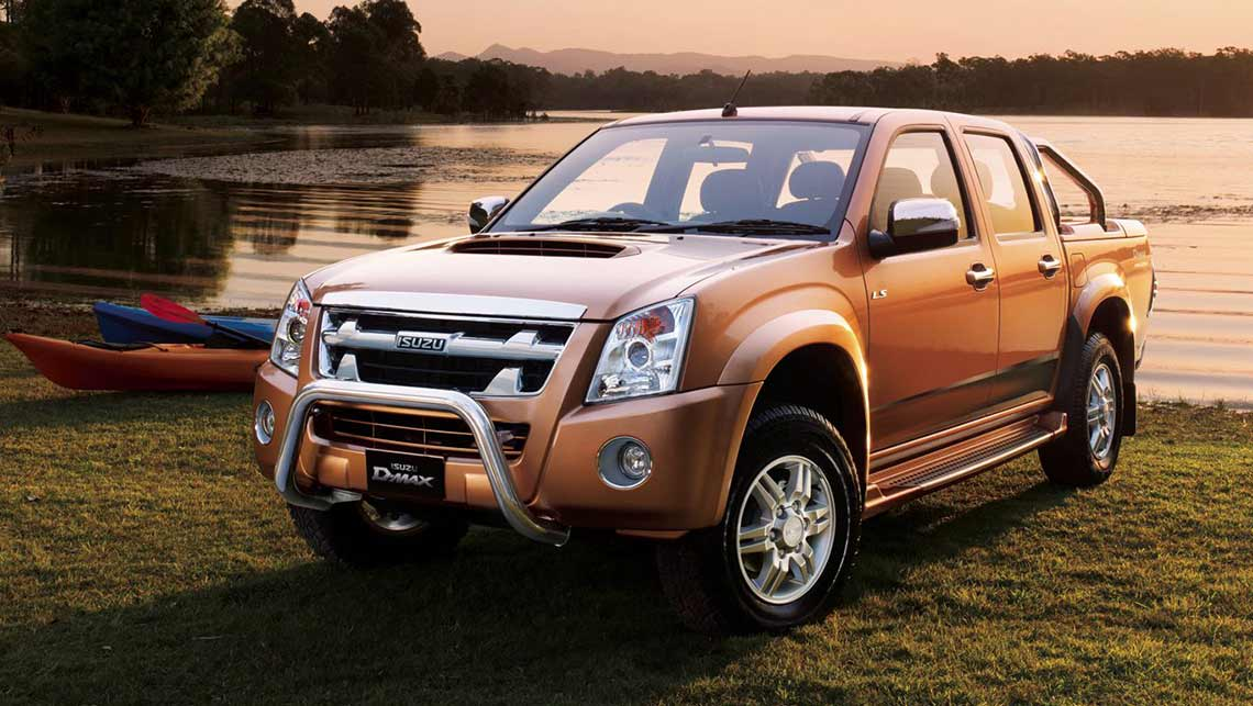 used isuzu d-max review: 2008-2012 | carsguide