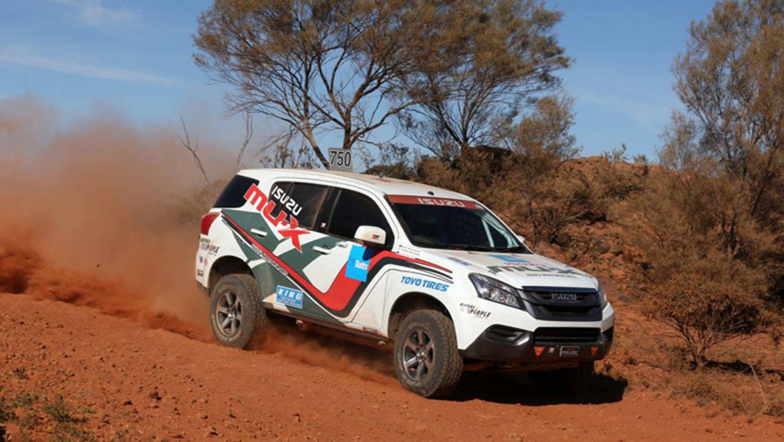 Garland Triumphs In Isuzu Mu X Car News Carsguide