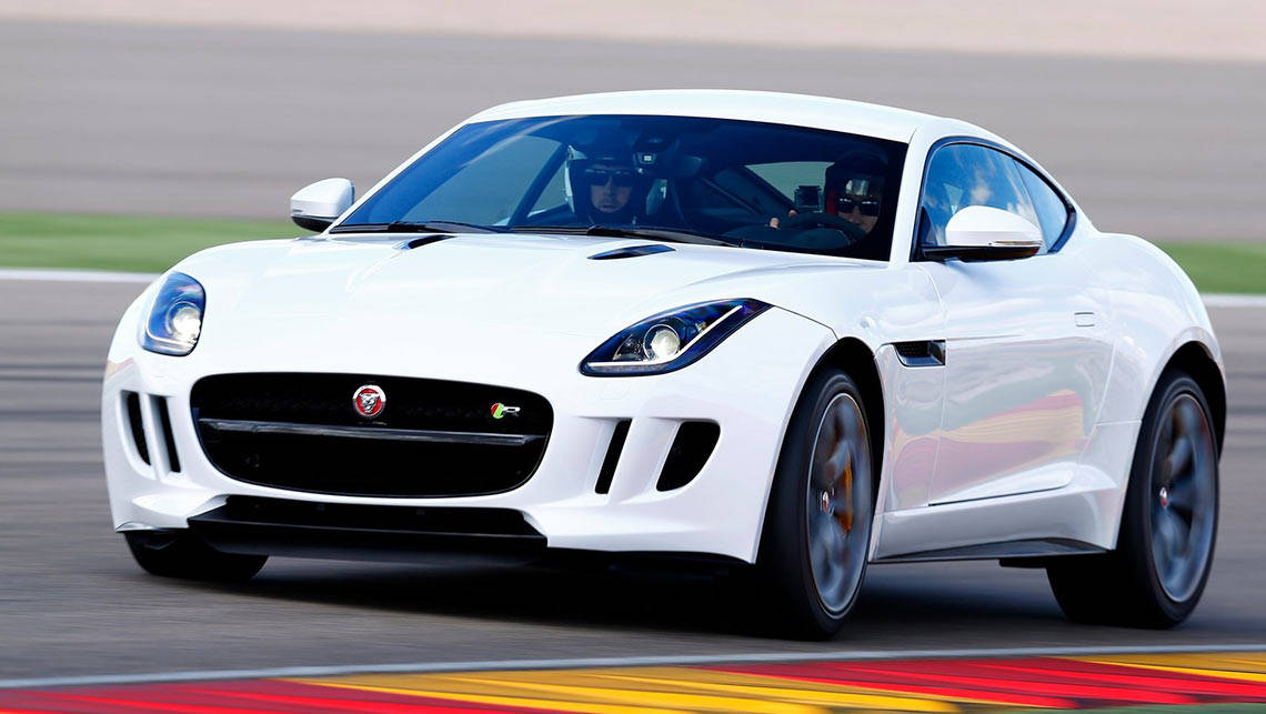 Jaguar F Type Coupe R.