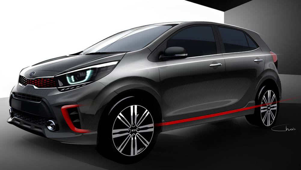 2017 Kia Picanto Revealed With Sketches