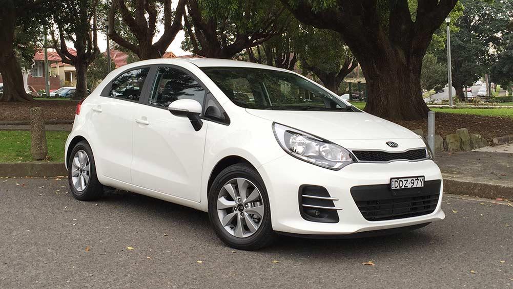 Kia rio s premium auto 2016 review road test carsguide for Kia motor finance login