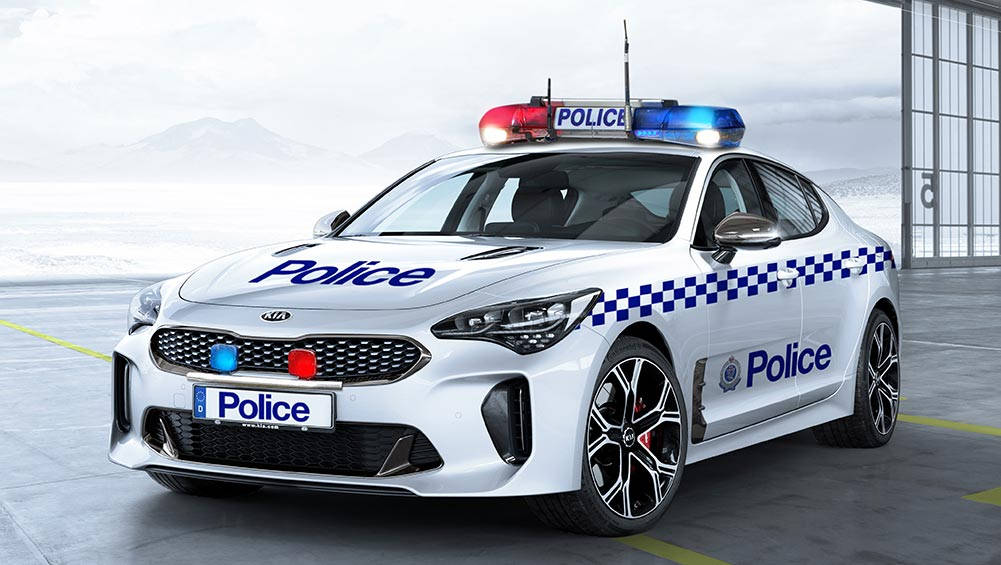 Kia Stinger Gt On The Cards For Australian Police Car