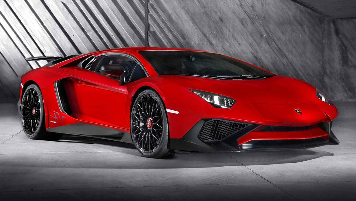 How much does a lamborghini cost in australia