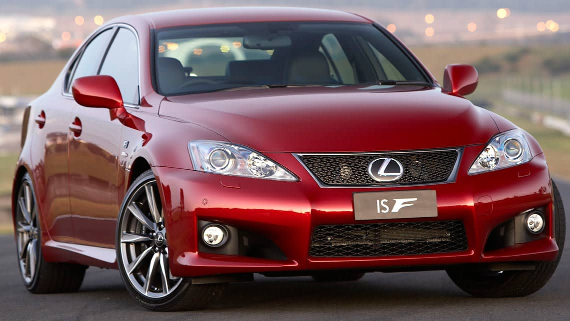 Lexus IS F 2014 Review