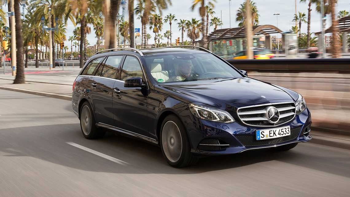 Mercedes benz e400 estate 2014 review carsguide for Mercedes benz estate cars