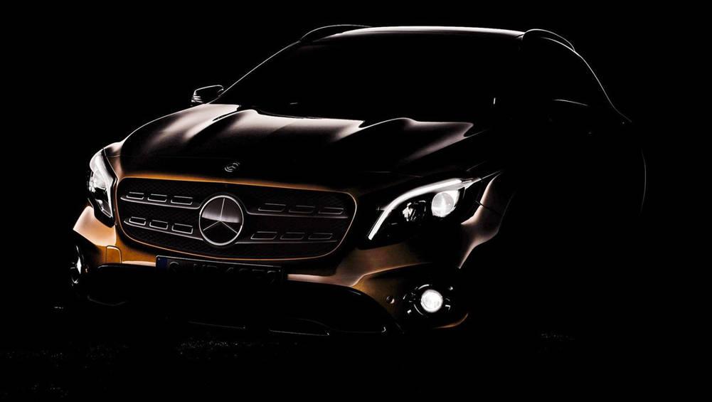 2017 Mercedes-Benz GLA Teased Ahead Of Detroit