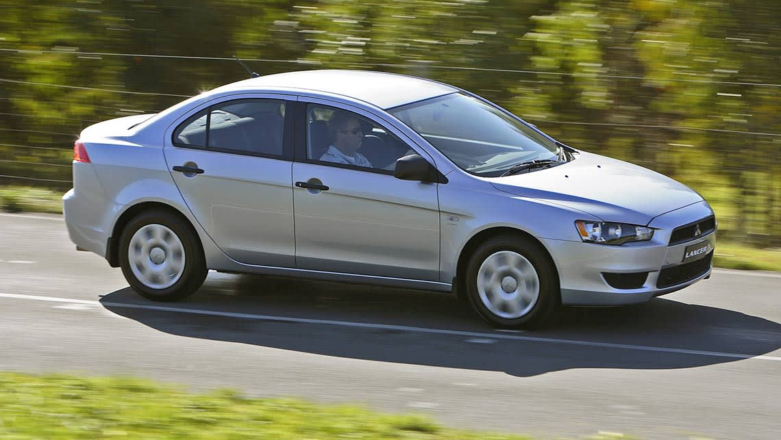 Used Mitsubishi Lancer Review 2007 2013 Carsguide