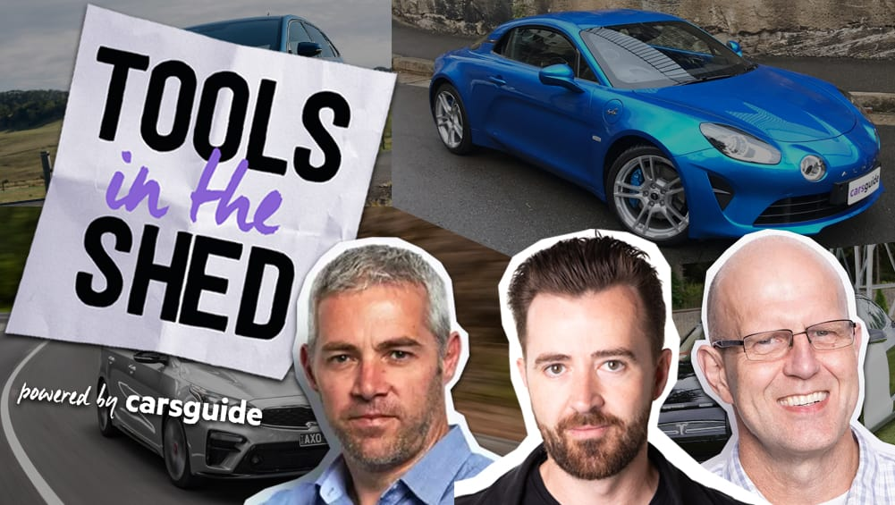CarsGuide Podcast: Tools in the Shed ep. 70