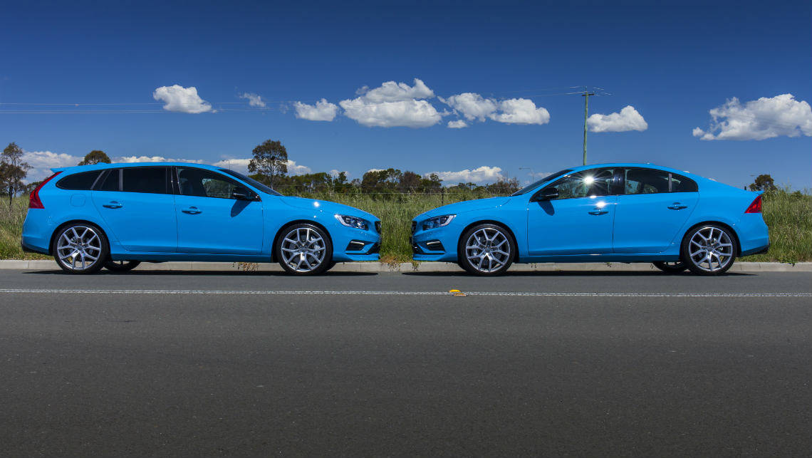 Volvo S60 and V60 Polestar 2015 review | carsguide