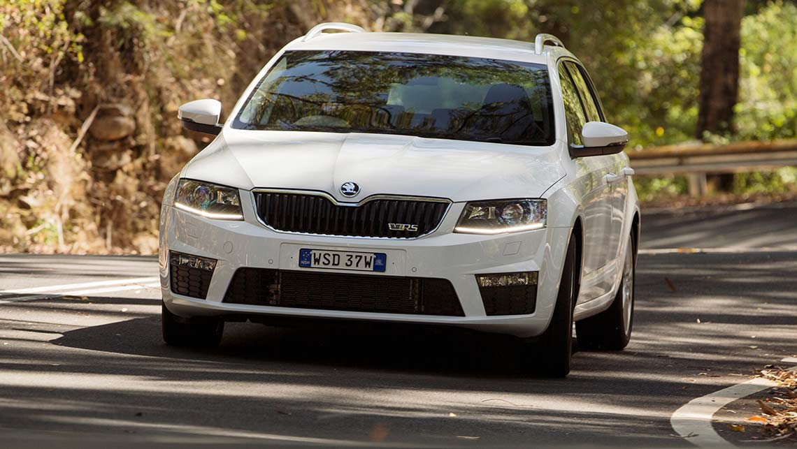 skoda octavia rs petrol and diesel 2014 review | carsguide