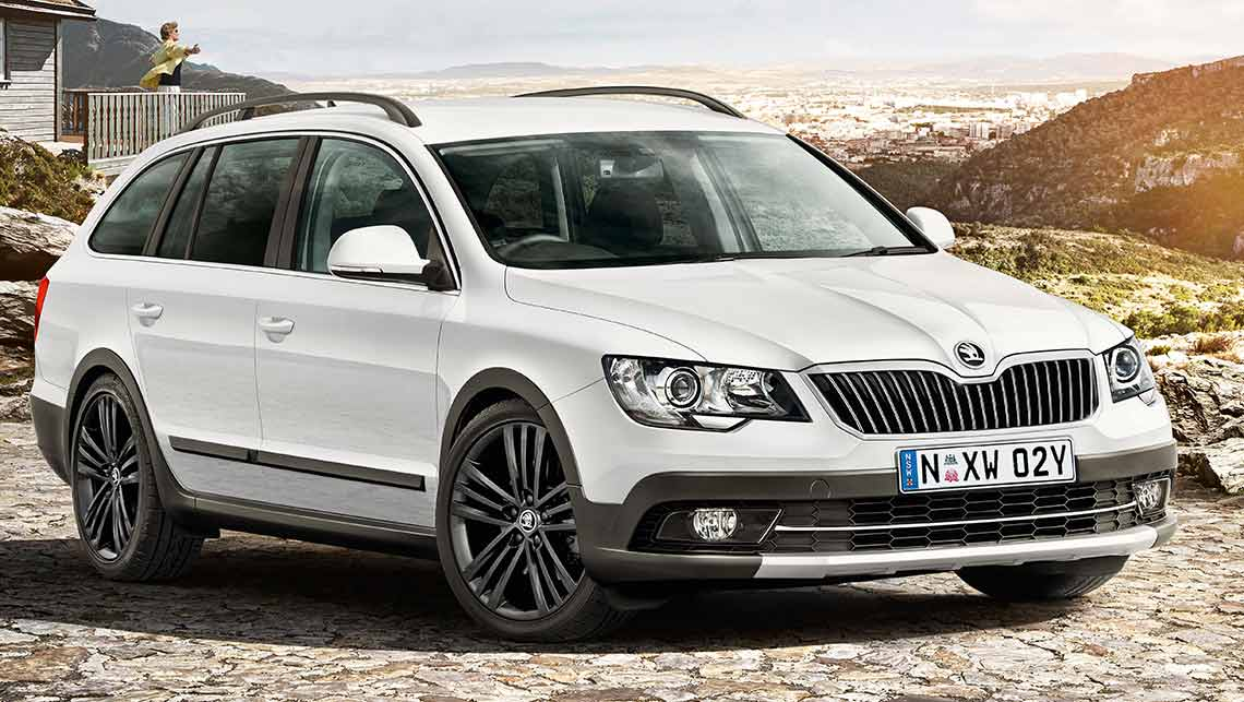 Skoda Superb 4x4 Outdoor 2015 Review Carsguide