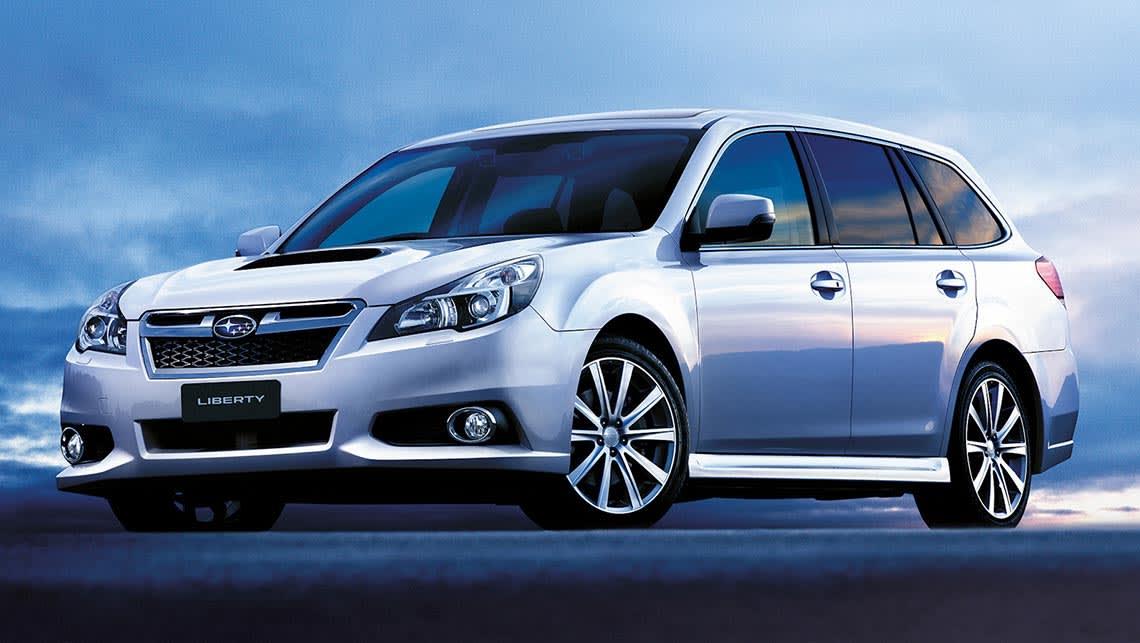 Subaru liberty wagon 2015