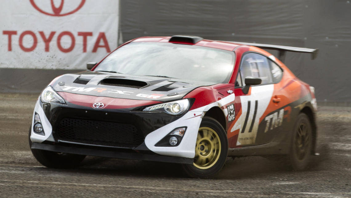 Toyota builds AWD turbo 86 rally car for Toyoda visit - Car News ...