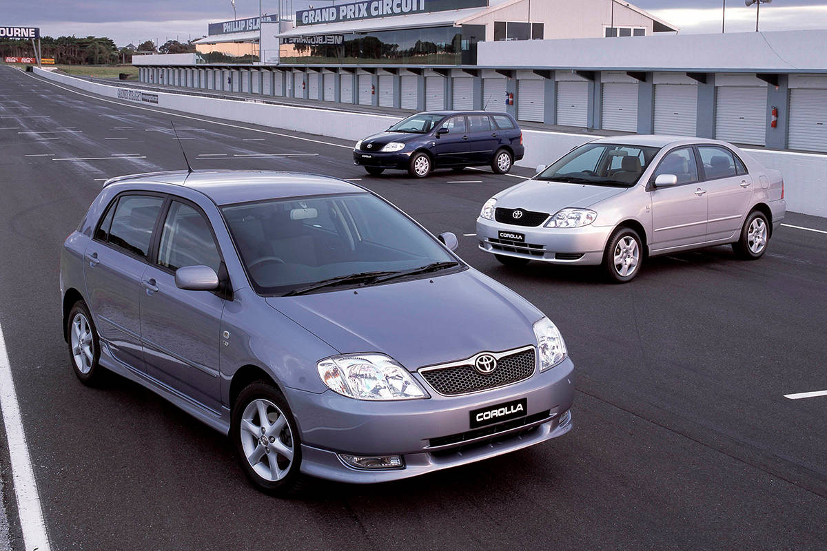 Toyota Fielder Pedals Used Corolla Review 2001 2007 Carsguide