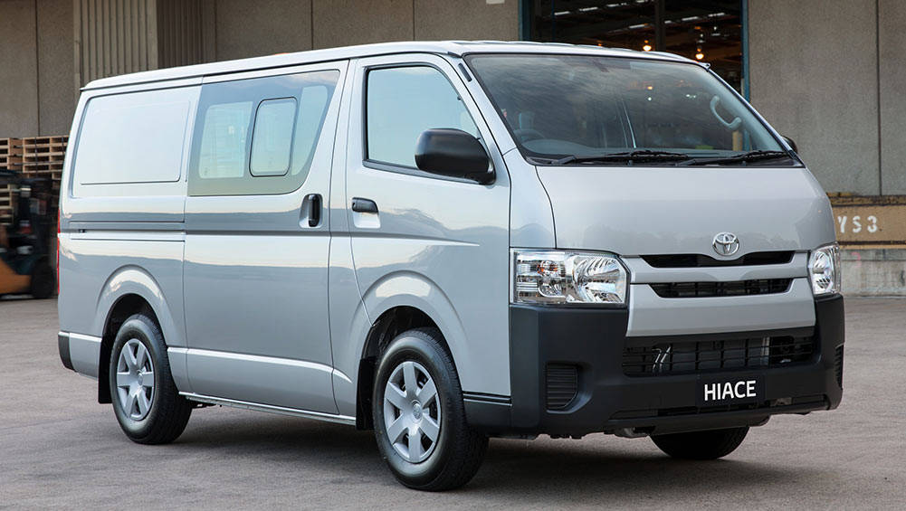 Toyota Hiace Lwb Crew Van 2017 Review Carsguide