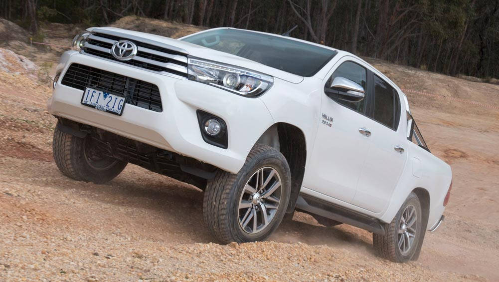 Toyota HiLux Tops Australian Sales Charts In 2016