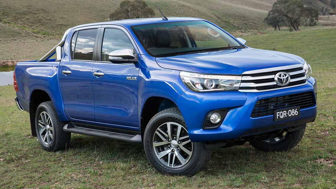 2015 Toyota Hilux Revealed Video Car News Carsguide