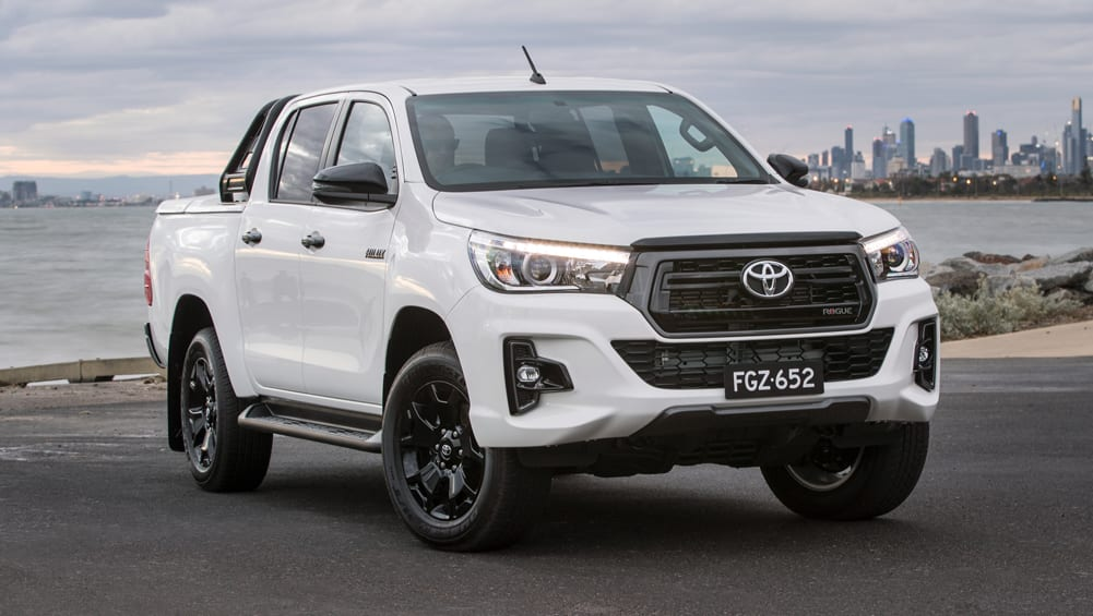 toyota hilux rugged x rugged rogue 2018 pricing confirmed car news carsguide. Black Bedroom Furniture Sets. Home Design Ideas