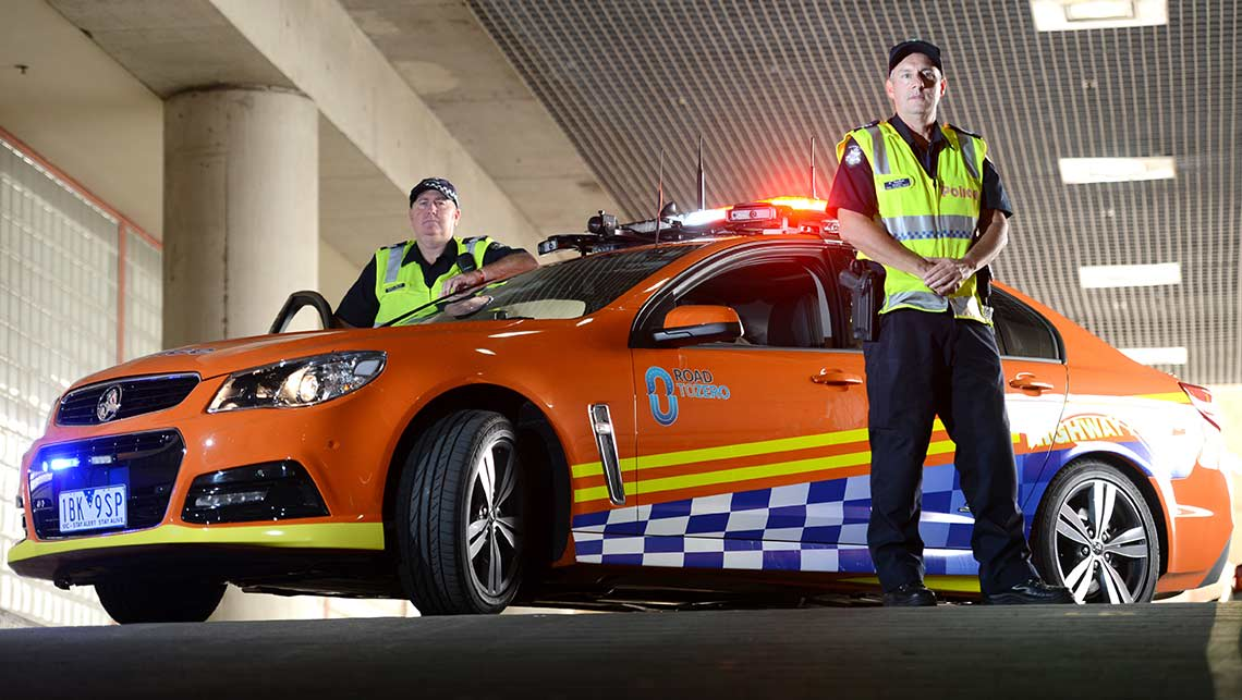 Used Cars Melbourne Fl >> Victoria Police's high-tech BlueNet cars - Car News | CarsGuide