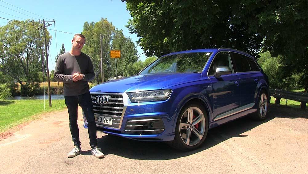 Audi SQ7 2016 Review | First Australian Drive