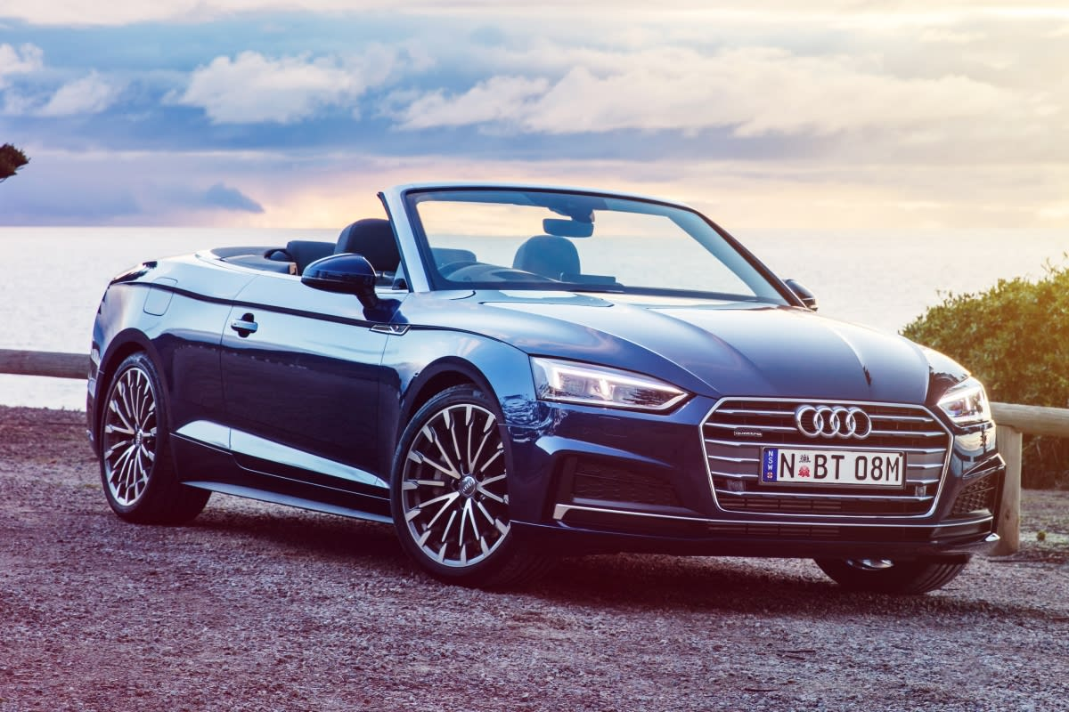 audi a5 cabriolet 2017 review carsguide. Black Bedroom Furniture Sets. Home Design Ideas