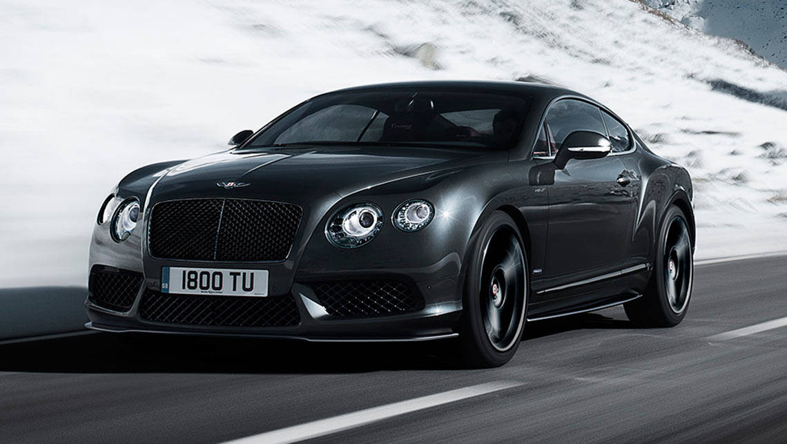 Bentley Continental Gt V8 S Concours Series Black 2015