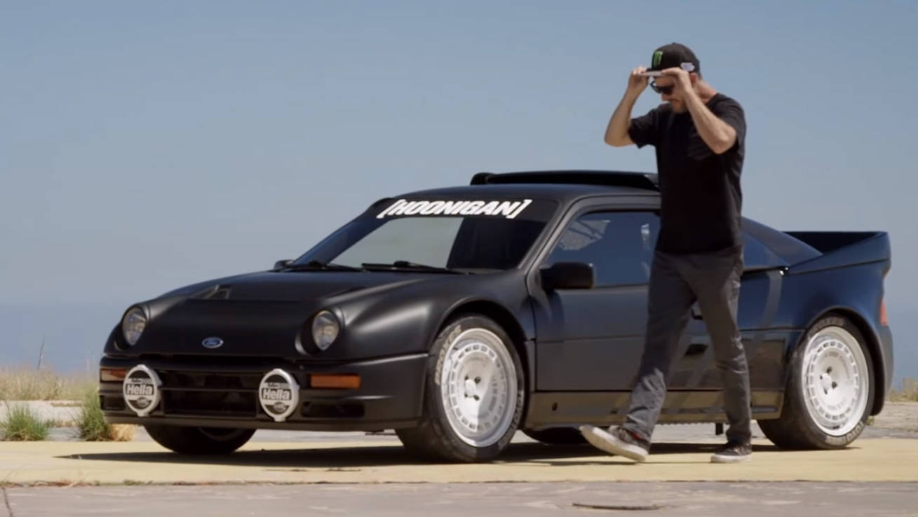 How To Sell A Car Fast >> Ken Block adds an RS200 to his posse of mental Fords | CarsGuide - OverSteer