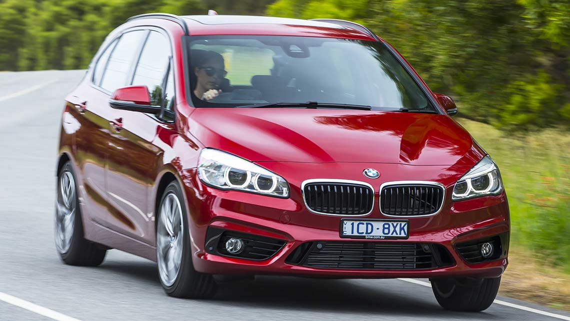 bmw 218d active tourer 2015 review road test carsguide. Black Bedroom Furniture Sets. Home Design Ideas