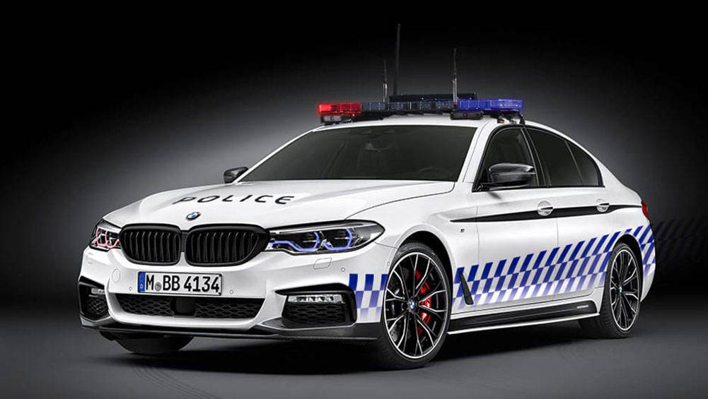 bmw confirms 5 series police potential car news carsguide. Black Bedroom Furniture Sets. Home Design Ideas