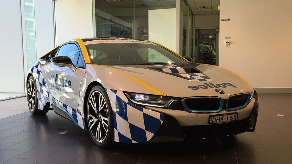 BMW I8 Top Speed >> NSW Police reveal BMW i8 - Car News | CarsGuide