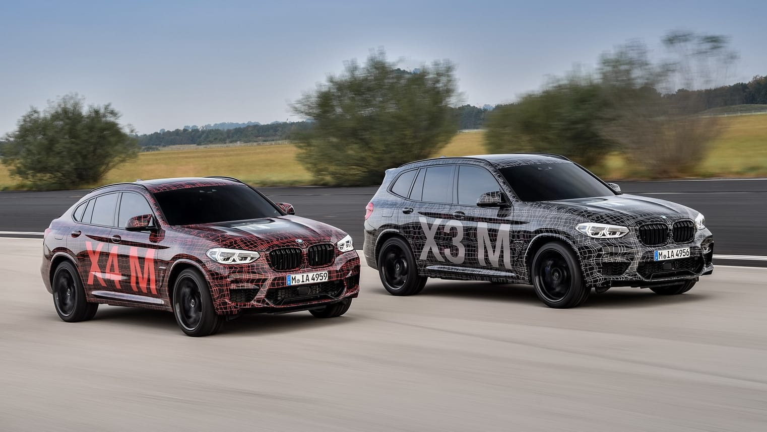 BMW X3 M and X4 M 2019 teased, confirmed for Australia
