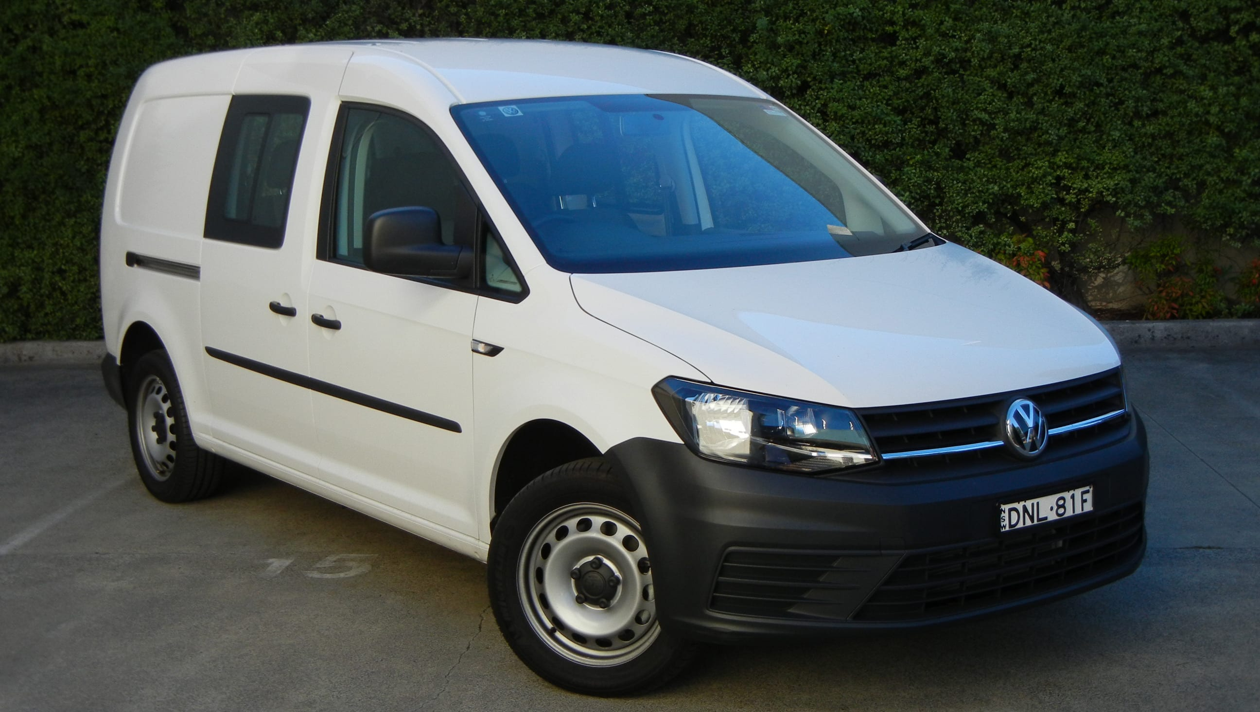 volkswagen caddy 2018 review carsguide. Black Bedroom Furniture Sets. Home Design Ideas