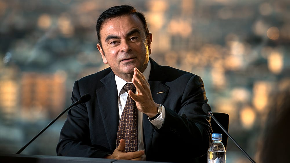 Nissan Renault Mitsubishi Chief Ghosn Predicts Autonomous Car Tipping Point In 2022