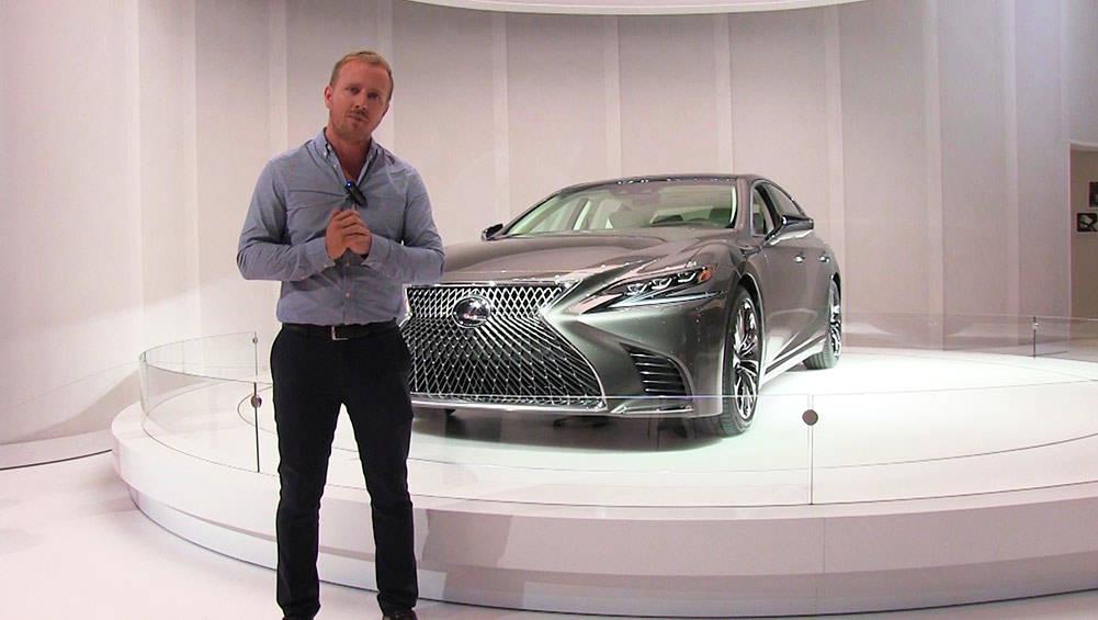 2018 Lexus LS Revealed In Detroit | Video