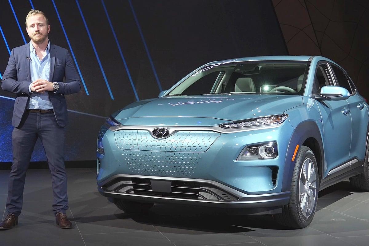 Hyundai Kona Electric 2019 confirmed for Australia - Car News | CarsGuide