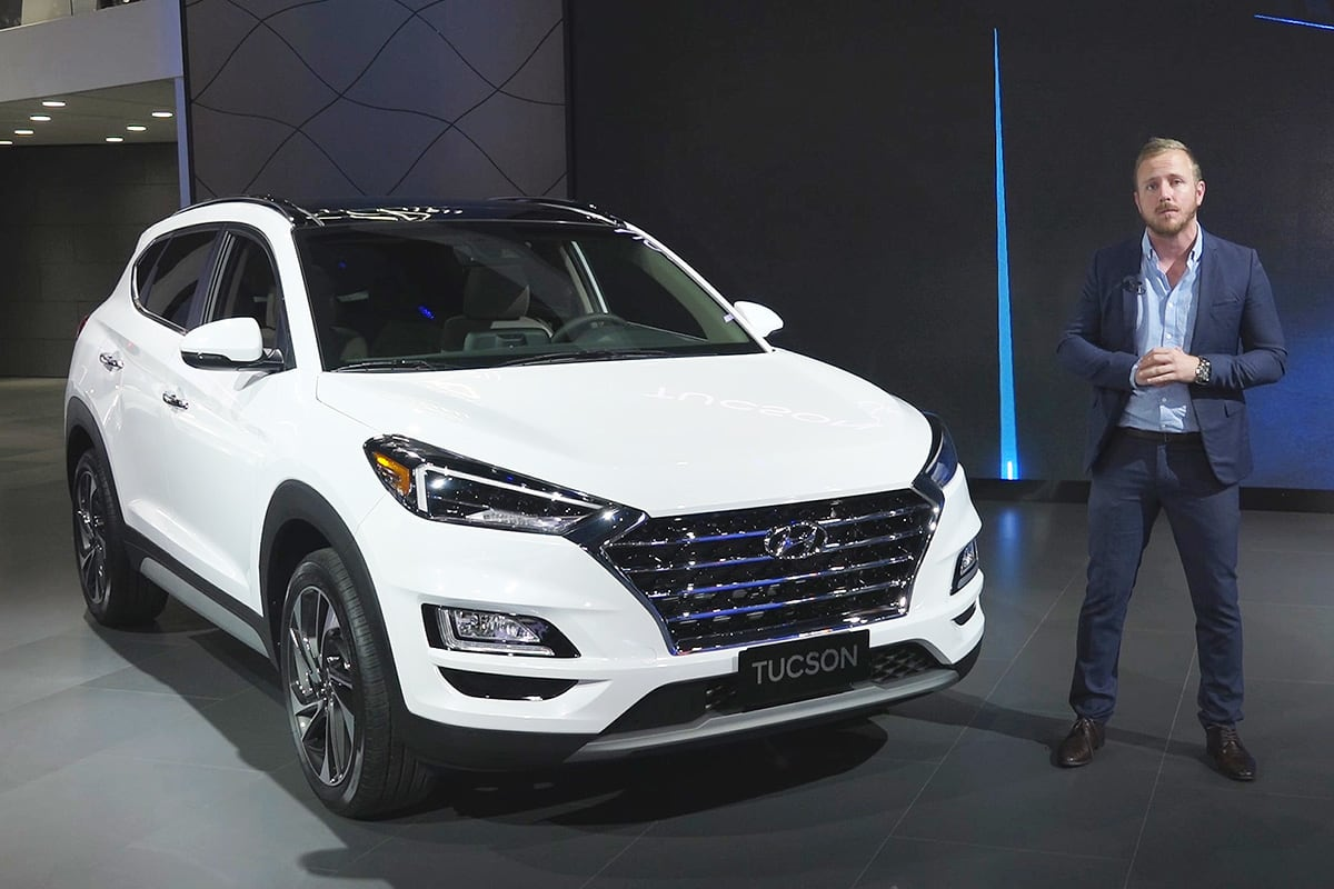 Hyundai Tucson 2019 Revealed Car News Carsguide