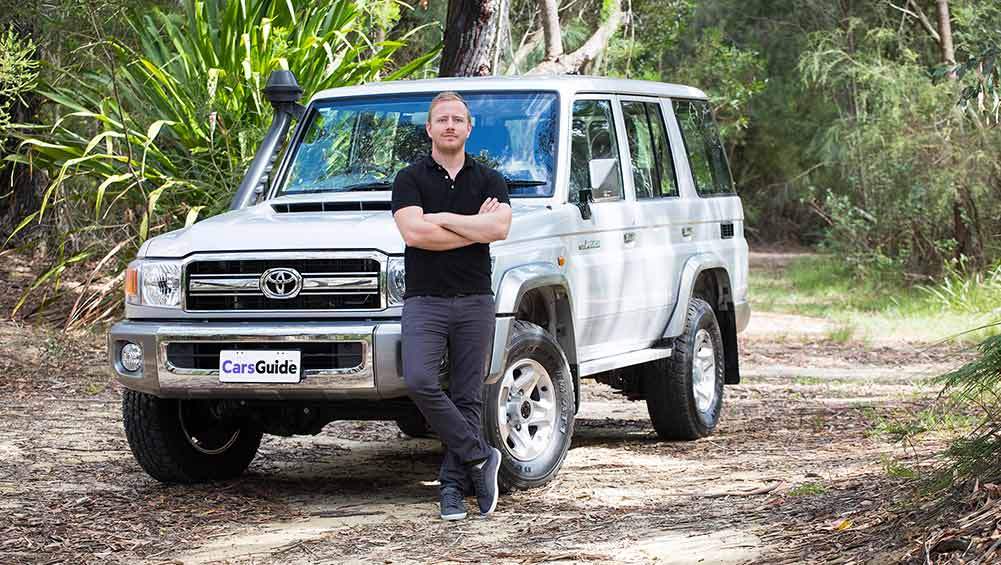 toyota lc land cruiser gxl  series wagon  review carsguide