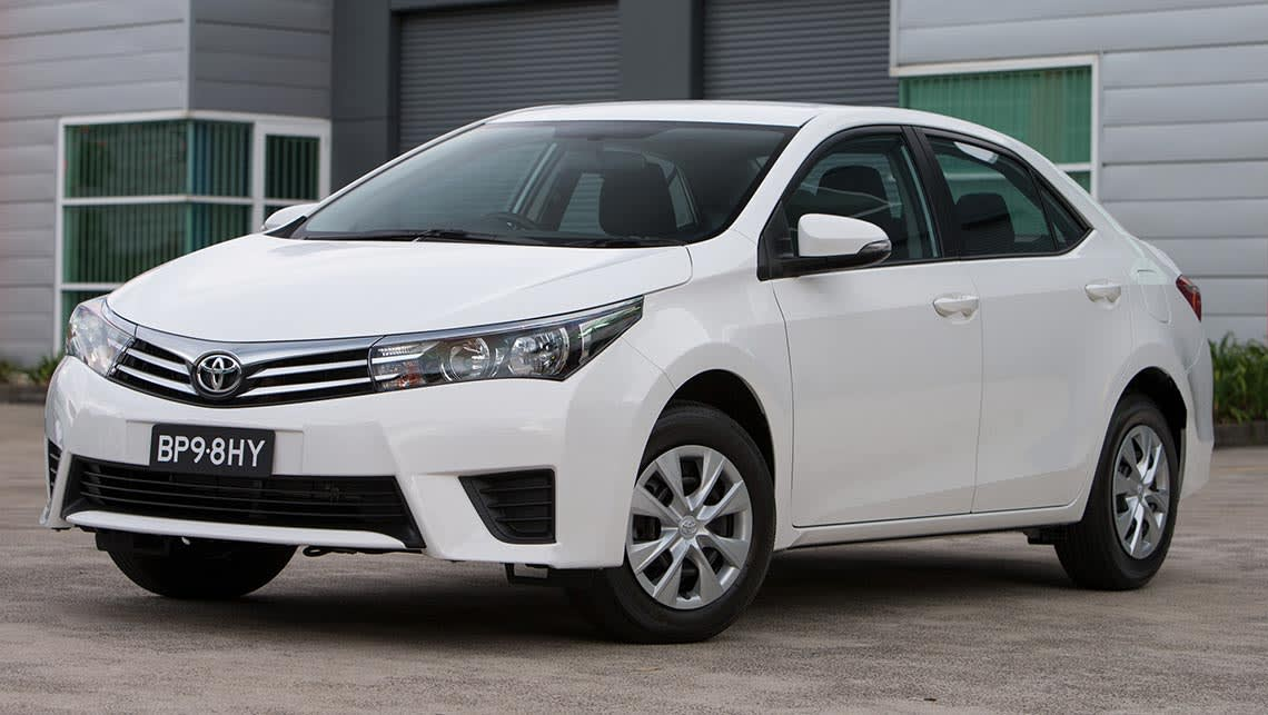 toyota corolla manual 2014 review carsguide. Black Bedroom Furniture Sets. Home Design Ideas