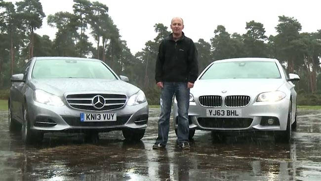 bmw 5 series vs mercedes e-class 2014 review | carsguide