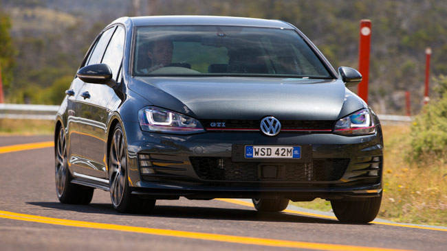 volkswagen golf gti performance  review carsguide