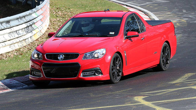 Coupe Vs Sedan >> Holden VF Ute vs The Nurburgring - record lap - Car News ...