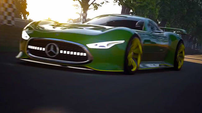Mercedes amg vision gran turismo revealed car news for Mercedes benz amg vision gt price